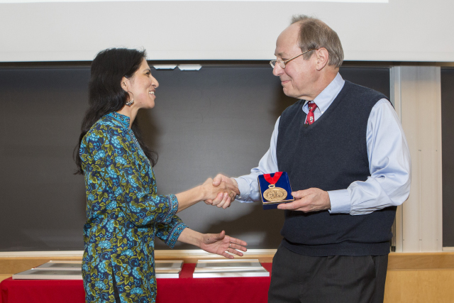 Radhika Nagpal, Fred Kavli Professor of Computer Science, who received the 2015 Capers W. McDonald and Marion K. McDonald Award for Excellence in Mentoring and Advising