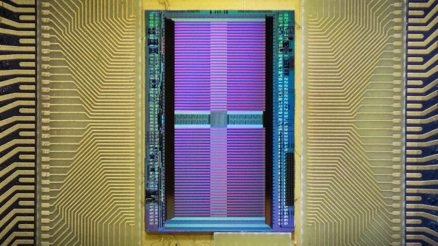 Image of the electronic chip