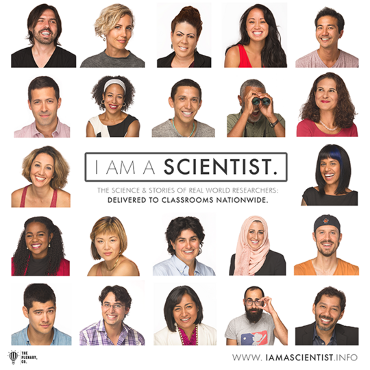 I Am a Scientist poster