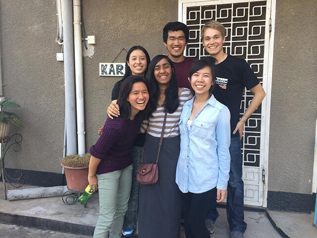 Alisa Nguyen in Tanzania with Tech in the World team