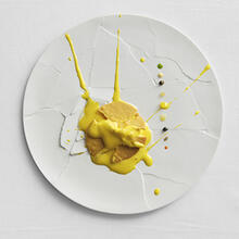 Oops! I dropped the lemon tart. (Photo by Paolo Terzi)