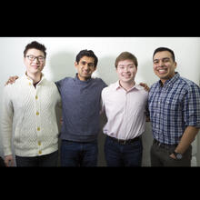 Peter Youn, Neel Mehta, Javier Cuan-Martinez, and Enrique Casas