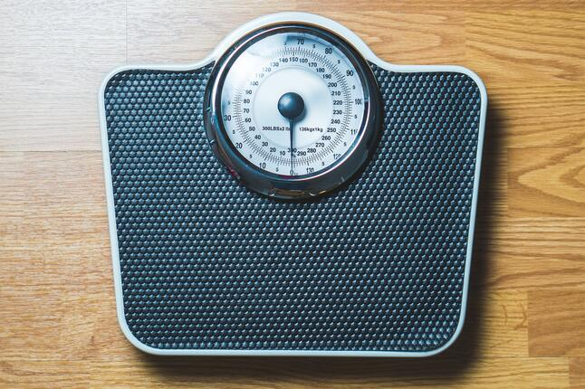 image of a scale