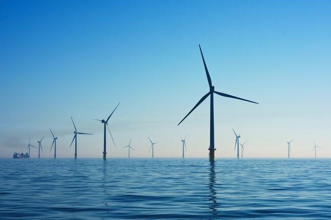 picture of offshore wind farm