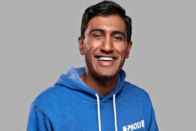 Rohan Pavuluri, CEO and co-founder of Upsolve