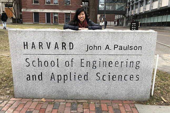 Mona Dai at Harvard