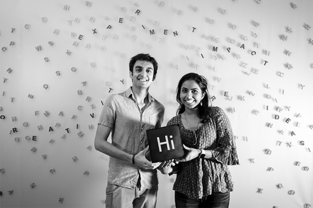 Co-founders Prasidh Chhabria and Anagha Kumar