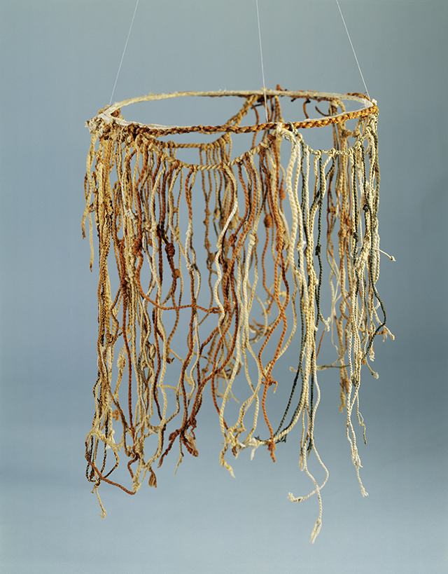 This Incan khipu, made from cords of yarn, is from the collection of the Peabody Museum of Archaeology and Ethnology at Harvard University. (Gift of Alfred M. Tozzer, 1941 © President and Fellows of Harvard College, Peabody Museum of Archaeology and Ethnology, PM# 41-52-30/2938)