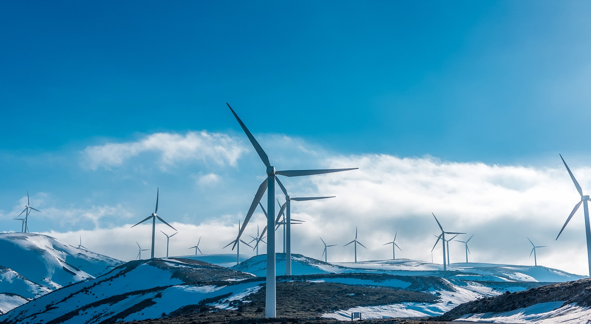 Large-scale wind power would require more land and cause